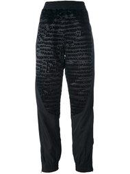 спортивные брюки с логотипом Nicopanda