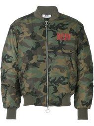 камуфляжная куртка бомбер Gcds
