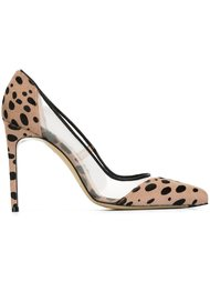 туфли-лодочки с леопардовым узором Bionda Castana