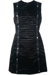 платье с логотипом Nicopanda