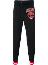 спортивные брюки с логотипом  Moschino