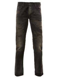 ripped tapered jeans Mastercraft Union
