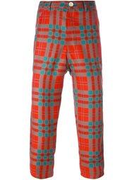 укороченные брюки в клетку Comme Des Garçons Shirt Boy