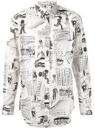 рубашка с принтом Comme Des Garçons Shirt