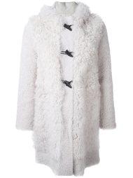 пальто с капюшоном Blancha