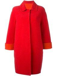классическое пальто с укороченными рукавами Gianluca Capannolo