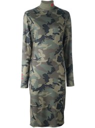 камуфляжное платье Gcds