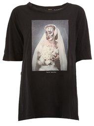 skeleton bride print T-shirt Undercover