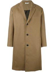 однобортное пальто Gcds