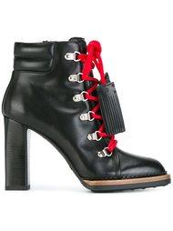 ботинки на каблуке  Tod's