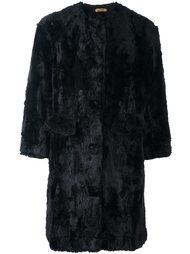 пушистое пальто Peter Jensen