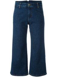 укороченные расклешенные джинсы P.A.R.O.S.H.