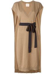 платье с поясом  Erika Cavallini