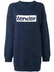 свитер с вышивкой Alexander Wang