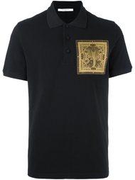 футболка-поло с нашивкой  Givenchy