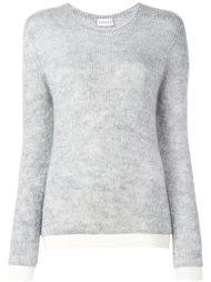 классический свитер с круглым вырезом Moncler