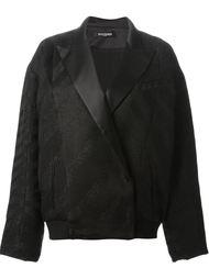 пиджак с фактурной отделкой Balmain