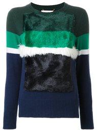 полосатый свитер в рубчик Muveil