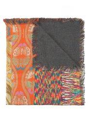 шарф с рисунком и бахромой Pierre-Louis Mascia