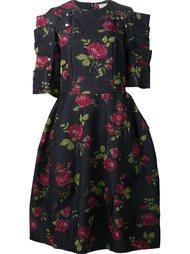 платье с розами Comme Des Garçons