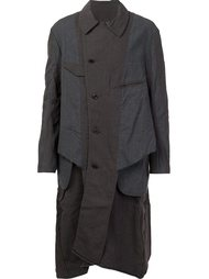 extended lining coat  Ziggy Chen