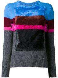 свитер со шлицами по бокам  Muveil