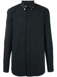 рубашка с заклепками на воротнике Givenchy