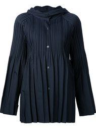 плиссированная куртка с капюшоном Pleats Please By Issey Miyake