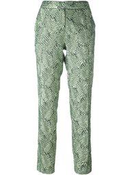 жаккардовые брюки  Christian Pellizzari