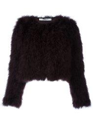 короткая куртка из перьев Givenchy