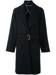 пальто свободного кроя с поясом Rochas