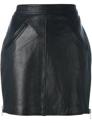 короткая юбка с бахромой Jeremy Scott