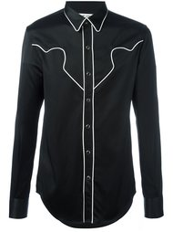 рубашка 'Rock' в стиле вестерн Saint Laurent