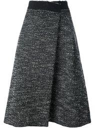 юбка букле с запахом Marc Jacobs