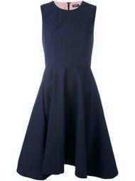 расклешенное платье без рукавов Jil Sander Navy