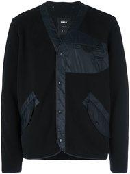куртка-бомбер со стегаными панелями Yang Li