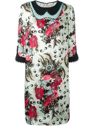 платье шифт с цветочным принтом Antonio Marras