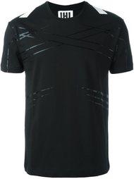 футболка с контрастной полоской Les Hommes Urban