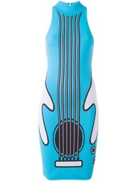 платье с принтом гитары Jeremy Scott