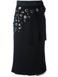 декорированная эластичная куртка Dolce & Gabbana