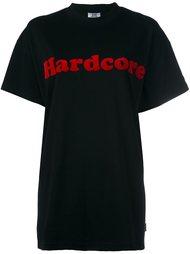 футболка с принтом 'Hardcore' Gcds