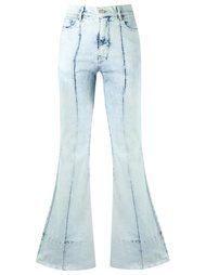high waist flared jeans Amapô