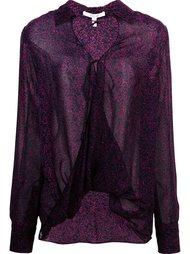 drape front blouse Derek Lam 10 Crosby