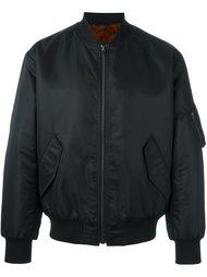 куртка-бомбер с меховой отделкой Yves Salomon Homme