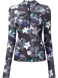 dark blossom long sleeve hoodie Adidas By Stella Mccartney