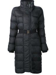 wintersport long belted jacket Adidas By Stella Mccartney