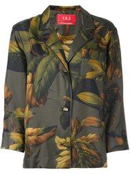 блузка с лиственным принтом For Restless Sleepers