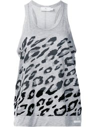 essentials leopard tank top Adidas By Stella Mccartney
