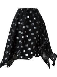 юбка с прозрачным узором Area Di Barbara Bologna