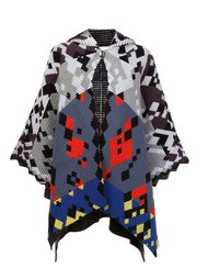 multi 'Ottoman' knit cape Peter Pilotto